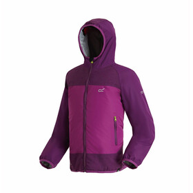 Regatta Volcanics II Jacket Girls Winberry/Winberry Reflective